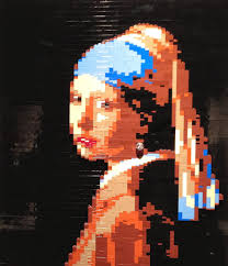 lego girl with earring
